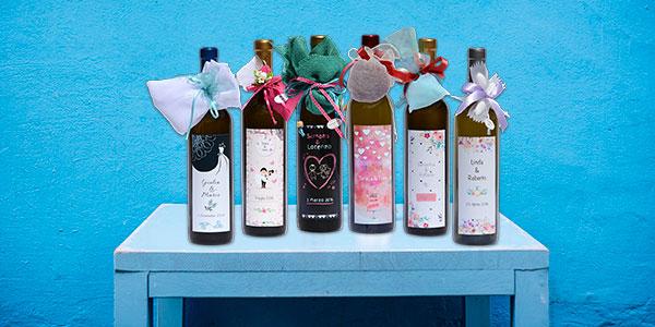 Bottiglie vino personalizzate